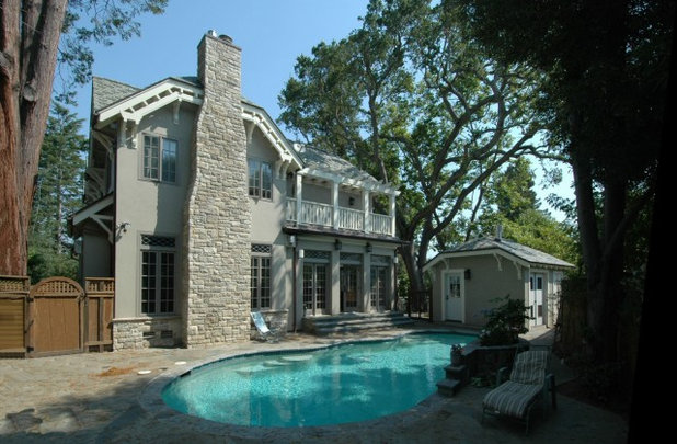 Craftsman Pool by Mark Brand Architecture