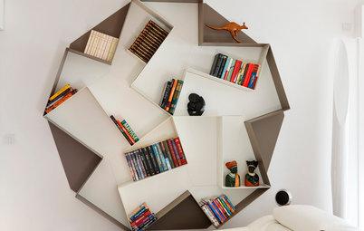 Praktisk og pænt: Gør bogreolen til hovedperson i indretningen