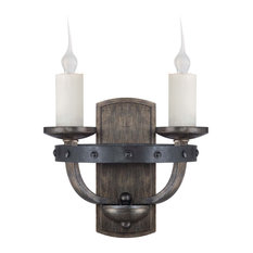 savoy house lighting alsace 2light wall sconces in reclaimed wood wall sconces