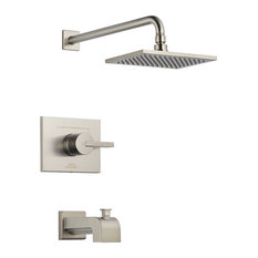 Delta Vero Monitor 14 Series Tub and Shower Trim, Stainless, T14453-SS