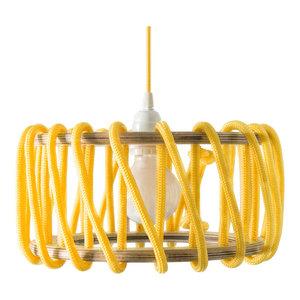 Macaron Pendant Lamp, Yellow, Small