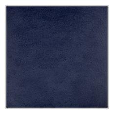 "SomerTile 14.13""x14.13"" Simbols Porcelain Floor/Wall Tile, Set of 8, Blue"