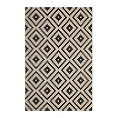 Perplex  Geometric Diamond Trellis 5x8 Indoor and Outdoor Area Rug by Modway