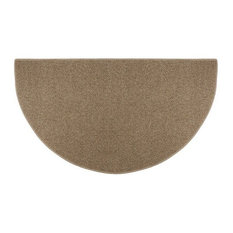 Good Of The Woods   Sisal Weave Half Round Rug, Butterscotch   Area Rugs