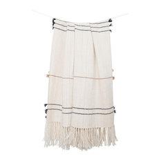 Belen Throw, Small Tassel, 100% Alpaca Wool, Fair Trade