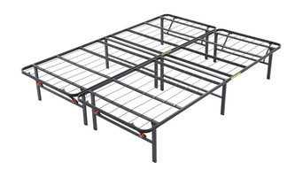 "Classic Brands Hercules 14"" King Heavy Duty Metal Bed Frame, Black"
