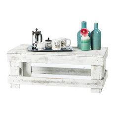 Barnwood Coffee Table, White
