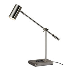 Collette AdessoCharge Desk Lamp, Steel