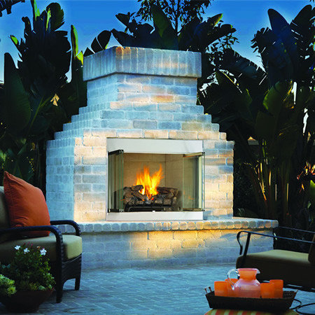 Superior VRE3000 Gas Outdoor Fireplace   Outdoor Fireplaces