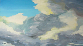 Rising Cloud 30″ x 36″ / Acrylic on Canvas / Janet Bright