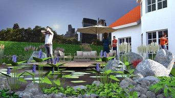 3D Landscape Designs - Examples