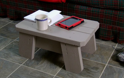 Neat Little Project: Make an All-in-One Stool, Mini Table and Ottoman