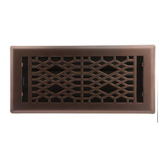 Accord Ventilation Light Oil Rubbed Bronze Cathedral Floor Register 4 X10