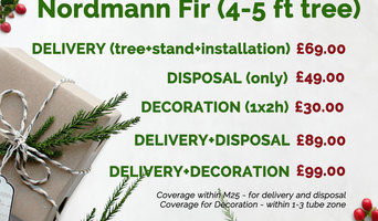 Nordmann Fir (4-5 ft Christmas Tree)