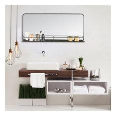 Manom Wall Mirror With Shelf
