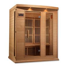 Maxxus 3 Person Low EMF Far Infrared Carbon Heater Sauna