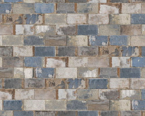 The Havana Collection - Sky Blue Color Variation - Wall And Floor Tile