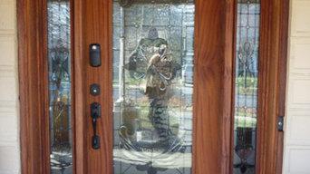Front Door w/ Sidelights