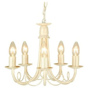 Olivia Chandelier Transitional Chandeliers by Elstead