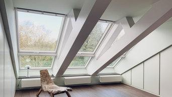 Dachgeschoß | Ankleide und Schlafzimmer