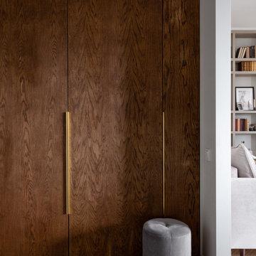 Современная квартира с элементами классики 48м2