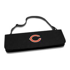 Chicago Bears Metro BBQ Tote & Tools Set, Black
