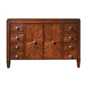 """Avanity Brentwood Vanity Only, New Walnut Finish, 49"""" Wide"""