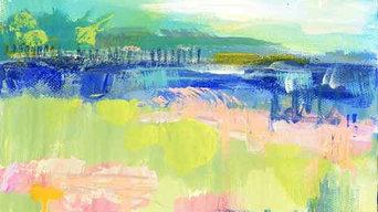 Abstract Coastal Paintings