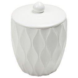 Beach Style Bathroom Canisters by Roselli Trading Company