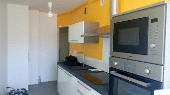 De la couleur dans la cuisine !