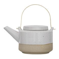 - TEAPOT, Barbara, White - Teapots