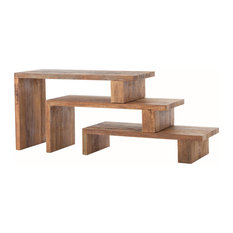 Delightful Four Hands Furniture   Bowery Ferris Nesting Console Table   Console Tables