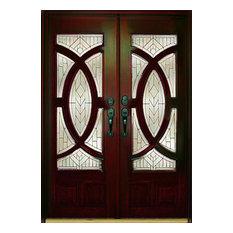 exterior front doors. US Door  Window Exterior Front Entry Double Wood M680A 36 x80 x2 Transitional Doors Houzz