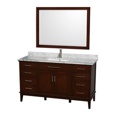 60 in. Eco-Friendly Single Sink Vanity with Mirror