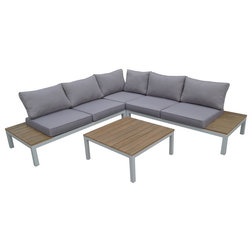 Epic Contemporary Outdoor Lounge Sets by THY HOM