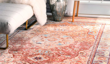Up to 75% Off Area Rugs by Hue