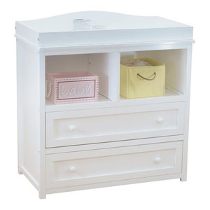 247f19197cf5 AFG Baby Furniture Athena Leila 2-Drawer Changer With Galley Rail