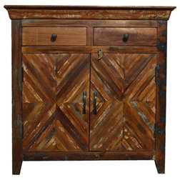Rustic Accent Chests And Cabinets by Favors Handicraft