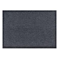 Clean Keeper Doormat, Dark Grey, Large