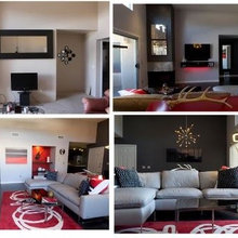 Before and after  project in Scottsdale AZ