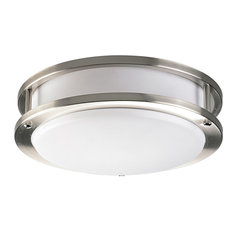 50 most popular contemporary flush mount ceiling lights for 2018 houzz progress lighting 1 light close to ceiling brushed nickel flush aloadofball Image collections