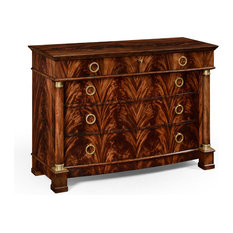 Mahogany Biedermeier Low Chest