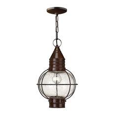 Sienna 1-Light Chain Lantern, Bronze