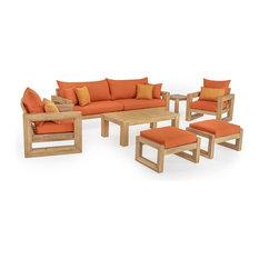 Benson 8-Piece Sofa and Club Chair Set, Tikka