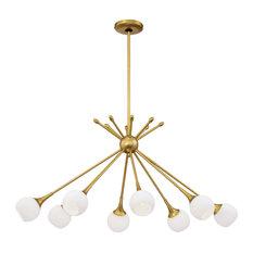 Pontil 8 Light Island Light in Honey Gold