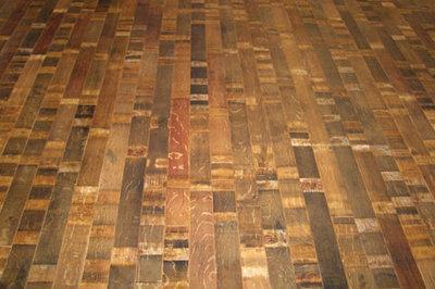 Eclectic Hardwood Flooring by Fontenay