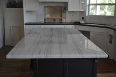 Here Is A Picture Of My Counter Top Of White Macaubus Quartzite.