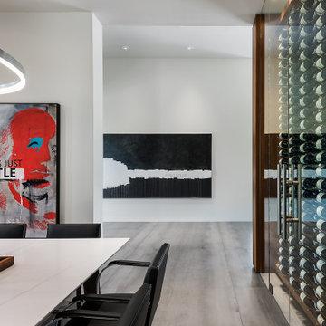 Urban Modern - Wine Wall