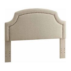 Linon Regency Headboard Full/Queen Size Natural Linen