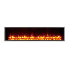 "Dynasty Harmony BT Built-in Linear Electric Fireplace, 63"" Wide"